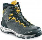 Meindl Schuhe Minnesota Pro GTX Men - anthrazit/gelb - Gr.42 - UK 8
