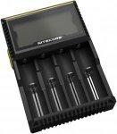 NiteCore Batterie Ladegerät Digital D4 mit Display für Batterien AA / AAA - sc