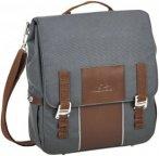 Norco Bolton City Tasche - Radtasche im Retro Design - grau