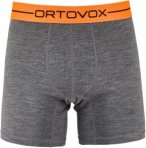 Ortovox 185 Rock'n Wool Boxer Short Men - Merino Unterwäsche - dark grey - Gr.L