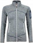Ortovox Merino Fleece Light Melange Jacket Women - Leichtes Damenfleece - grey b