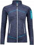 Ortovox Merino Fleece Light Melange Jacket Women - Leichtes Damenfleece - night