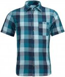 Ortovox Merino Vintage Cortina Shirt Short Sleeve Men - Outdoorhemd - blue navy