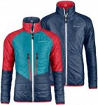 Ortovox Swisswool Piz Bial Jacket Women - Wendbare Thermojacke - night blue - Gr