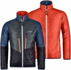Ortovox Swisswool Piz Boval Jacket Men - Thermo Wendejacke - crazy orange - Gr.M