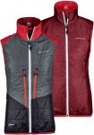 Ortovox Swisswool Piz Grisch Vest Women - Wende Thermoweste - dark blood red - G