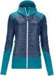 Ortovox Swisswool Piz Palü Jacket Women - Thermojacke - night blue - Gr.M
