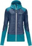 Ortovox Swisswool Piz Palü Jacket Women - Thermojacke - night blue - Gr.S