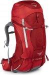 Osprey Ariel AG 55 Women - Damenrucksack für Trekkingtouren - picante red - Gr.