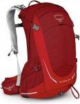 Osprey Stratos 24 - Wanderrucksack - red