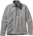 Patagonia Better Sweater 1/4 Zip Men - Fleecepullover - stonewash hellgrau - Gr.
