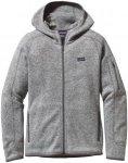 Patagonia Better Sweater Hoody Jacket Women - Fleecejacke mit Kapuze - birch whi