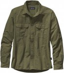 Patagonia EL Ray Longsleeve Shirt Men - Outdoorhemd - span moss dark green - Gr.