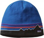 Patagonia Hat Beanie - Fleecemütze - classic fitz roy: andes blue