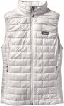 Patagonia Nano Puff Vest Women - Thermoweste - birch white - Gr.L