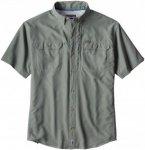 Patagonia Sol Patrol II Shirt Men - Kurzarmhemd - hemlock green - Gr.XL