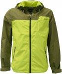 Pro-X Elements Clark Jacket Men - Wasserdichte Allwetterjacke - moos green/lime