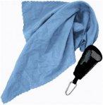 Reisehandtuch 40x40cm - Mini Handtuch - blau - 40x40 cm