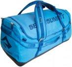 Sea To Summit Duffle 65L - Reisegepäck mit Schultertragegurte - blue