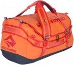 Sea To Summit Duffle 65L - Reisegepäck mit Schultertragegurte - orange