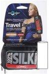 Sea To Summit Silk Stretch Liner Long - Seiden Schlafsack - navy dark blue - 210