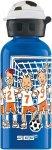 SIGG Alutrinkflasche Kids 400 ml - Kindertrinkflasche - 0,4 Liter - football - w