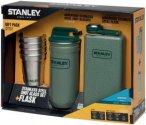 Stanley Geschenkset Adventure Steel Spirits - Flachmann-Pintchen-Set - Flachmann