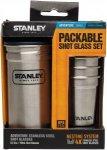 Stanley Steel Shot Glass Set - 4 Edelstahlbecher / 1 Edelstahlbehälter mit Schr