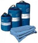Tropicare Care Plus Reisehandtuch Travel Towel Microfibre 75x150cm - Large - bla