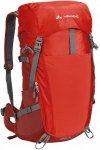 Vaude Brenta 35 - Wanderrucksack mit Netzrücken - lava red 141