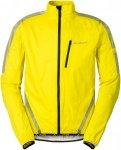 Vaude Luminum Performance Jacket Men - Rad Regenjacke - canary yellow - Gr.M