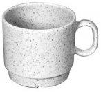 Waca Melamin Geschirr - Granit PBT Tasse - Tasse - 230 ml