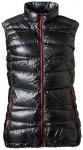 Yeti Argon Ultralight Down Vest Women - Daunenweste - black/red - Gr.M