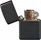 Zippo Feuerzeug - Schwarz - Benzinfeuerzeug - schwarz