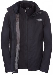 The North Face EVOLVE II 2IN1 Outdoorjacke black ink green