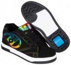 HEELYS PROPEL 2.0 Schuh black/rainbow foil, Gr. 31