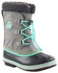SOREL YOOT PAC NYLON YOUTH Stiefel 2018 quarry dolphin, Gr. 33