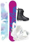 STUF AMBER 148 2018 inkl. FAME white + PURE PRO Boot black/white