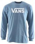 VANS CLASSIC LS T-Shirt 2018 copen blue/white, Gr. M