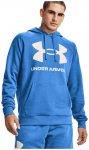 Under Armour Rival Fleece Big Logo Hoodie Herren ( Blau S)