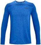 Under Armour Seamless LS Shirt Herren ( Blau L INT,)