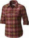 Columbia Silver Ridge L/S Flannel Shirt Women Langarmhemd Damen rot Gr. S