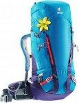 Deuter Gravity Guide 40+ SL Damen Alpinrucksack blau/lila