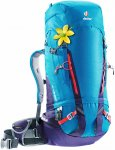 Deuter Gravity Guide 40+ SL Damen Alpinrucksack blau/lila