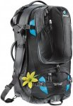 Deuter Traveller 60+10 SL-Damen Kofferrucksack black-turquoise