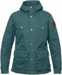 Fjällräven Greenland Jacket Women Kapuzenjacke Damen grau/grün Gr. L