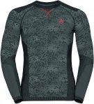Odlo Blackcomb Evolution Warm Shirt l/s men Herren grau Gr. M