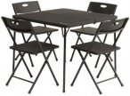 Outwell Corda Picnic Table Set Campingset schwarz