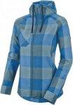 Salewa Puez PL W L/S Shirt Fleecejacke Damen blau Gr. 36