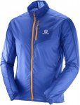 Salomon Fast Wing Jacket M Trainingsjacke Herren blau Gr. L
